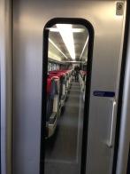 Boarding the train in Europe