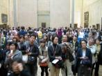 Crowd at the Mona Lisa