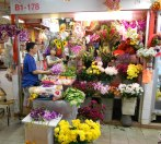 Singapore flower market