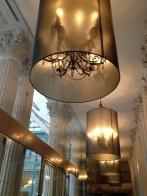 Lamp shades at the Westin Paris