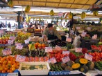 Fruit and vegetable market in Venice