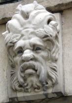 Lion's head, Paris