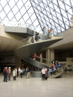 Stairs at the Louvre