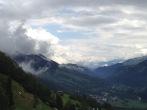 View across the valley in Switzerland